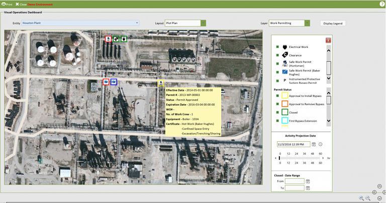 Screenshot that shows the Visual Operations Dashboard